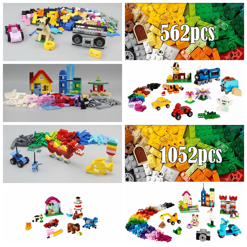 Lepin Classic Creative Creator Building kits Blocks Bricks DIY Educational Toys for Children Compatible with legoINGly no Duplo