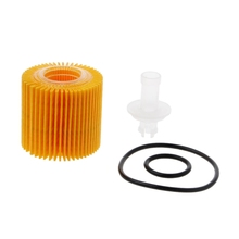 Set For Corolla Prius Toyota Genuine OEM Oil Petrol Filters 04152-YZZA6 Pack Kit валик fit 04152