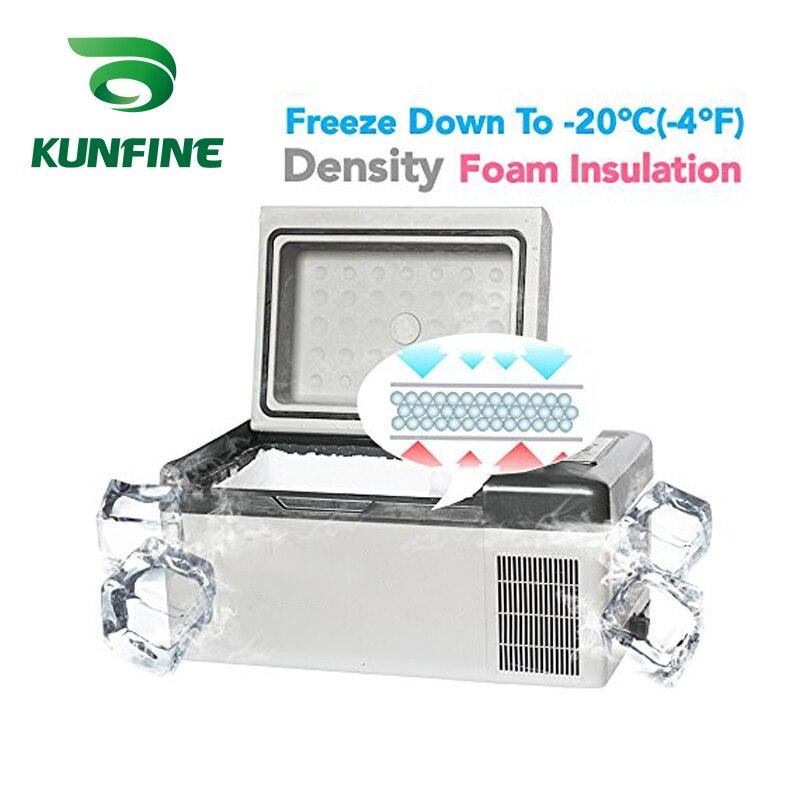 KUNFINE DC 12V24V 110-240V AC Car Refrigerator Multi-Function Fridge Compressor Vehicel Protable Refrigerator Freezer Cooler C20 (8)