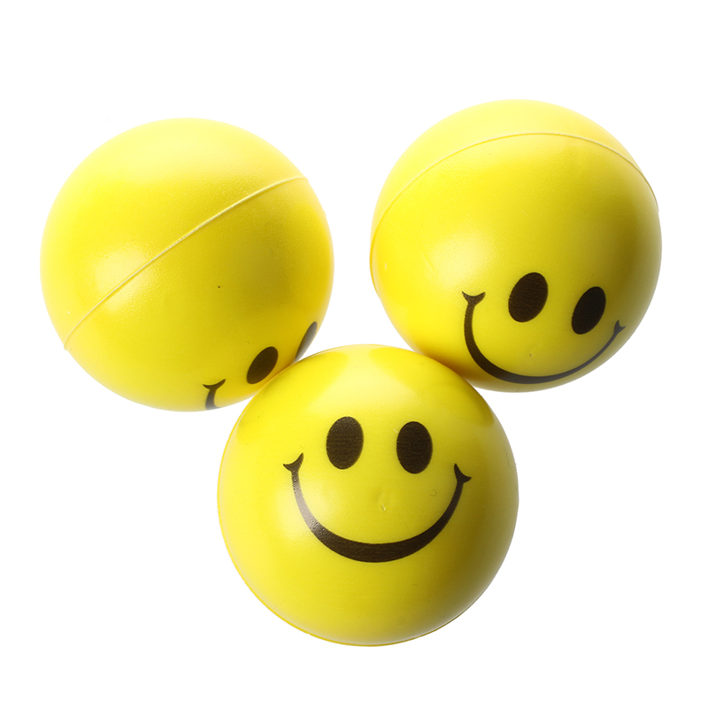 Splat Smiley Ball Funny Emotion Face Throw Window Wall Kids Fridget Sensory Toy