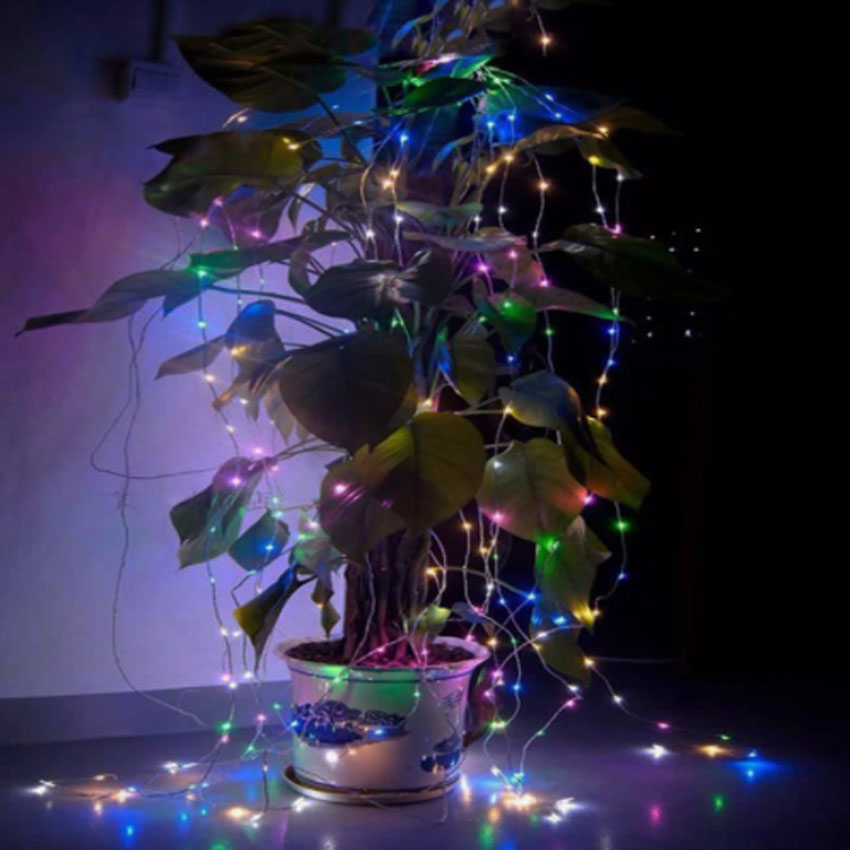 10M 100 LED Solar Power LED String Fairy Light Julfest Garden Yard - Festlig belysning - Foto 5