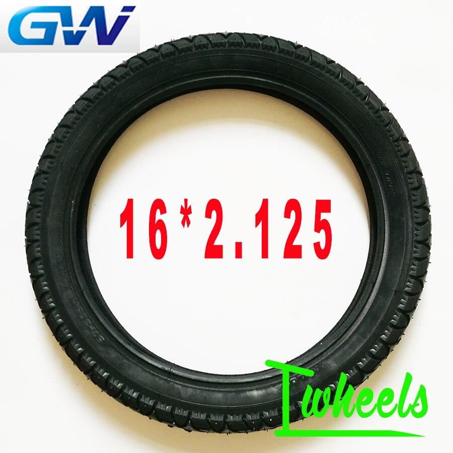 GotWay 14 pouces 14*2.125 16 pouces 16*2.125 chambre à air de pneu adaptée aux pièces de chambre à air de pneu GotWay MCM5 MCM4 Tesla ACM2 ACM