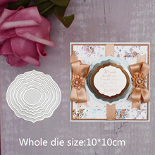 pretty Irregular Figure pattern frames Metal Steel Cutting Embossing Dies For Scrapbooking paper craft home decoration Craft