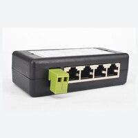 CTVMAN POE инжектор 4ch сплиттер Мощность Over Ethernet 4 Порты разъемы IEEE802.3af/на Мощность адаптер для видеонаблюдения IP Камера
