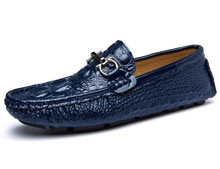 Men's Big Size 100% Genuine Leather Handmade Driving Shoes,New Moccasins Casual Shoes,Brand Designer Flats Loafers For Men H22