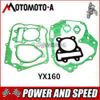 YinXiang YX 150cc / 160cc rebuild gasket for dirt bike/pit bike Engine YX150 YX160 Engine Head-Gasket Set Kit PIT BIKE Parts