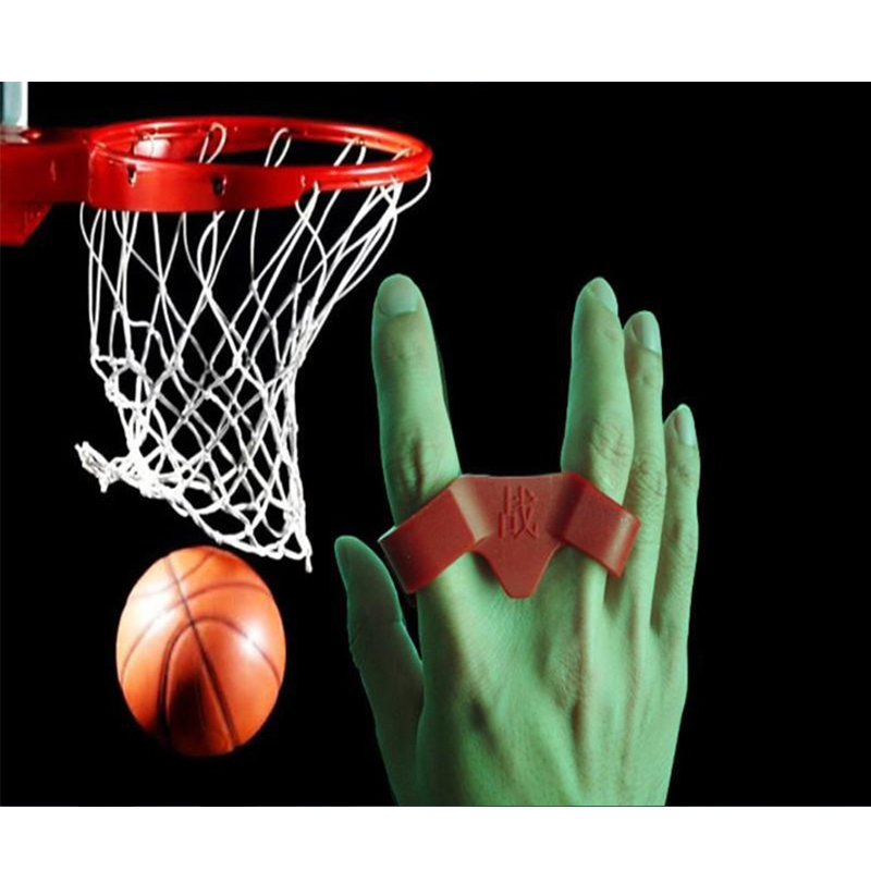 1 Piece Two Finger Silicone Shot Lock Basketball Training Posture Correction Device Ball Shooting Trainer Training Accessories