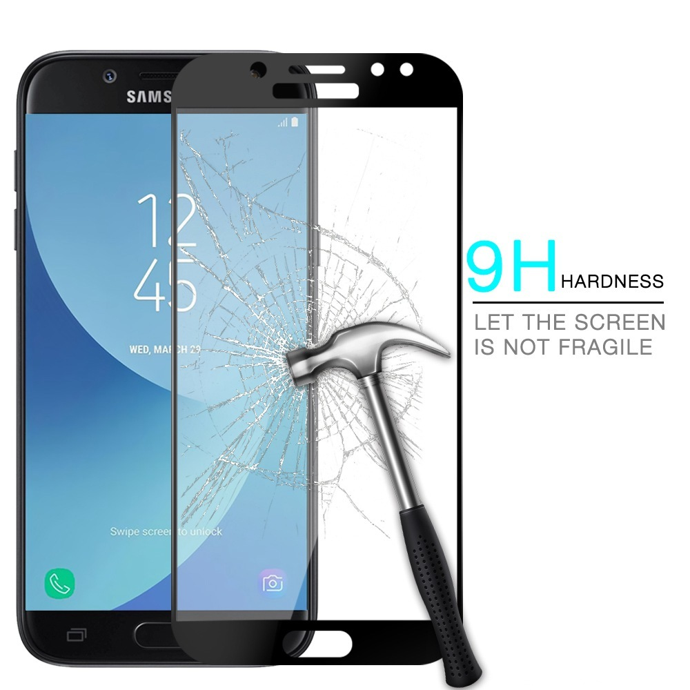 Tempered Glass For Samsung Galaxy J7 Prime G610 G610f G610m G610y Sm Gold 16gb Full Cover J4 2018 J2 J5 J6 J8 Pro