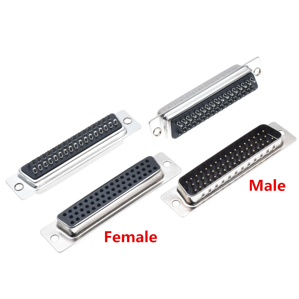 10pcs Db50 3 Row Hole Female Male D Sub Connector Rs232 Serial Port Pinout Diagram Aliexpresscom Buy 15cm Usb To Db9 10pc