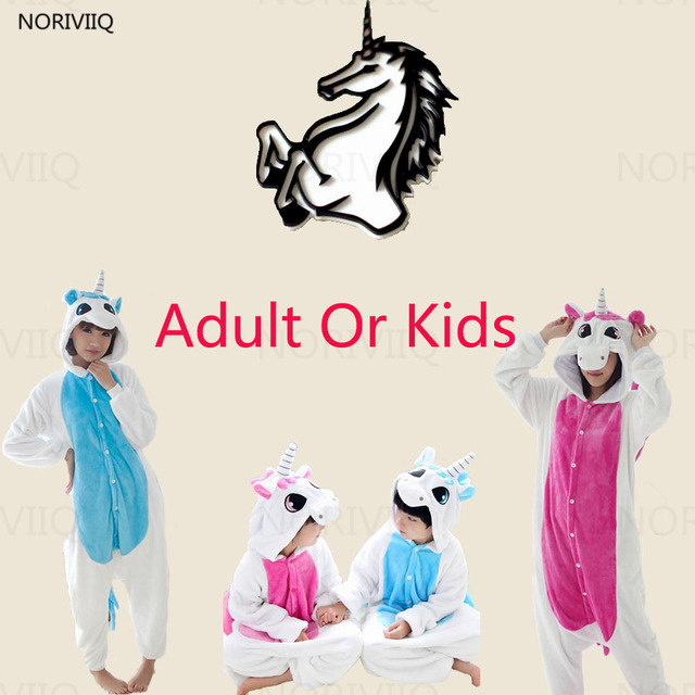 Anime Unicorn Pyjamas Onesize Cosplay Pajamas Animal Cosplay Costume Fancy Dress Cos Sleepwear
