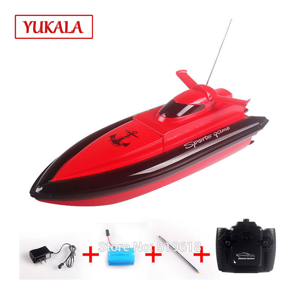 Free Shipping entry-level RC boat Remote control ship dual motor 800 20km/h speedboat toy Clippers water toys for kids boys цена