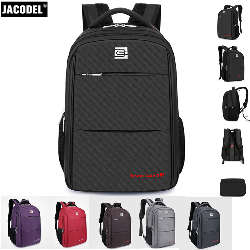 все цены на Jacodel 14 15 15.6 16 17 17.3 Inch Laptop Bag Large Computer Backpack for Laptop Bag 17 18 19 20 inch computer bag for Men Women онлайн