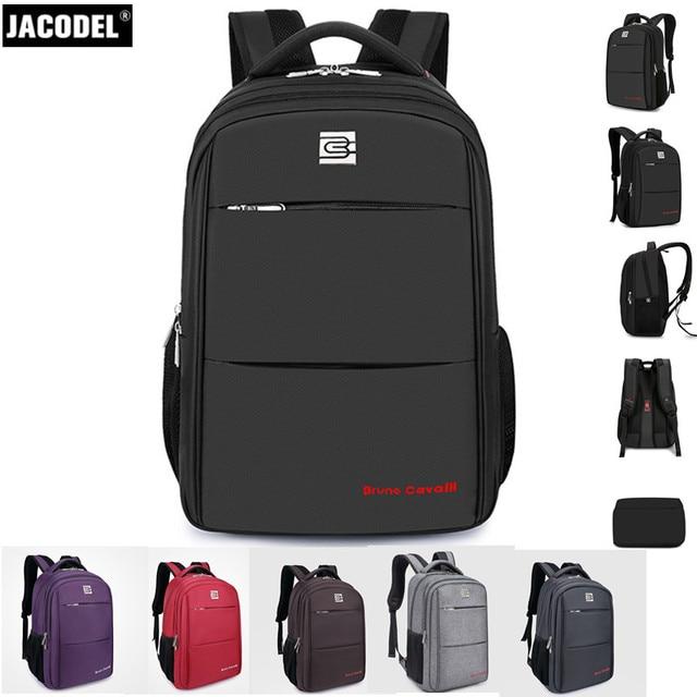 Jacodel 14 15 15.6 16 17 17.3 Inch Laptop Bag Large Computer Backpack for Laptop Bag 17 18 19 20 inch computer bag for Men Women