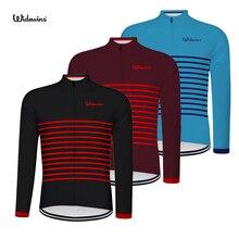 widewins Men's Full Zipper Cycling Jersey Bicycle Bike Shirt Long Sleeves MTB Mountain bike Jerseys Clothing Wear 3 colour 6553 недорого