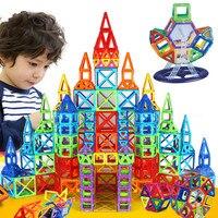 252pcs Magnetic Blocks Mini Magnetic Designer Construction 3D Model Magnetic Blocks Educational Toys For Children Kid