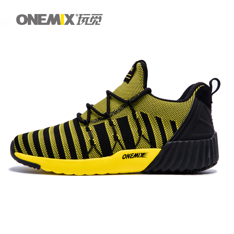 ONEMIX Sport Shoes For Men Women 2017 Original Trainers Piano Thicken Warm Exercise Sneaker lace up Fitness Running Shoe Light 2017brand sport mesh men running shoes athletic sneakers air breath increased within zapatillas deportivas trainers couple shoes
