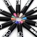 1 pc Caneta Sombra de Olho Delineador Caneta Lápis de Maquiagem Ferramentas de Maquiagem Sombra Glam Sombra de olho Vara 12 Cores Opcional Hot-venda