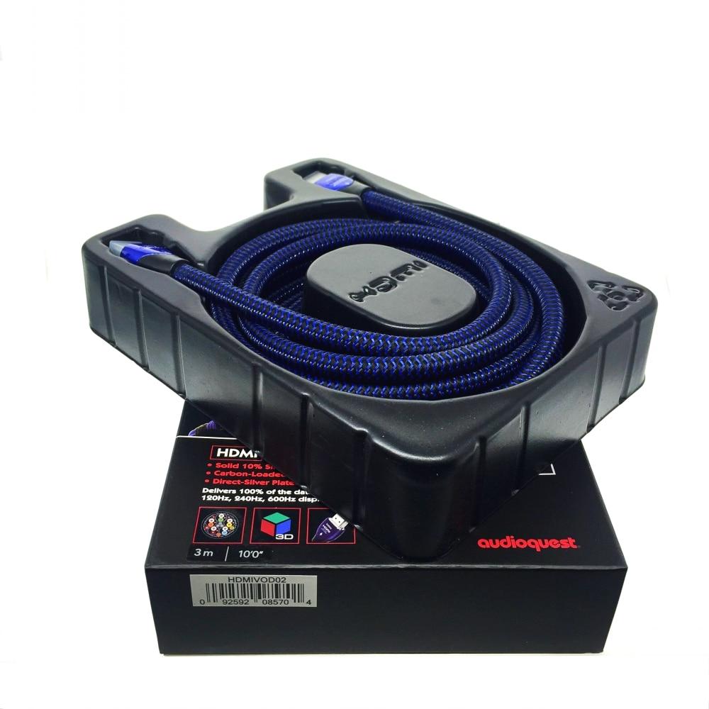 Audioquest VODKA HDMI Cable Plasma Video AV TV Cable 3D and 4K Ultra HD 2160P xangsane