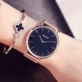 Gimto marca de lujo relojes de las mujeres 2017 señoras de la muchacha reloj de pulsera moda casual reloj de cuarzo relogio feminino mujer relojes de colore