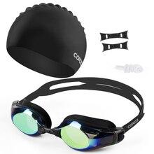 Copozz Anti-Fog Swimming Goggles 100% UV Protection Myopia S