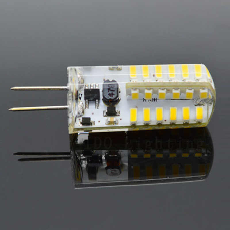 1pcs Led G4 Lamp 220V E12 E14 G9 Led Bulb Light AC DC 12V 220V SMD 3014 Spotlight 360 Beam Angle Replace For Crystal Chandelier