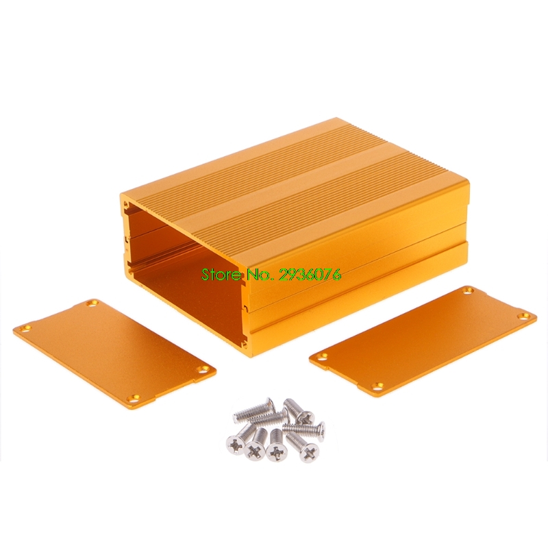 100x76x35mm DIY Aluminum Case Electronic Project PCB Instrument Box Drop Shipping Support