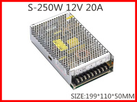 250W 12V 20A Single Output Switching Power Supply For LED Strip Light AC DC