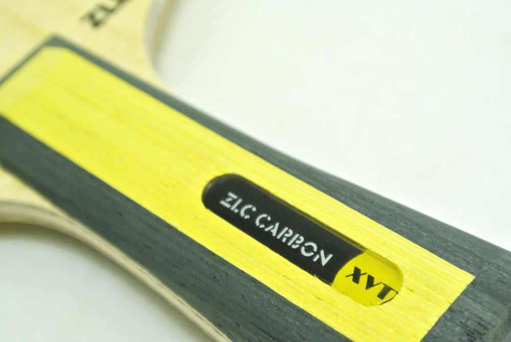 High-End   XVT  ZLC  Carbon  OFFENSIVE PLUS  Table Tennis Blade/ ping pong Blade/ table tennis bat  High Speed