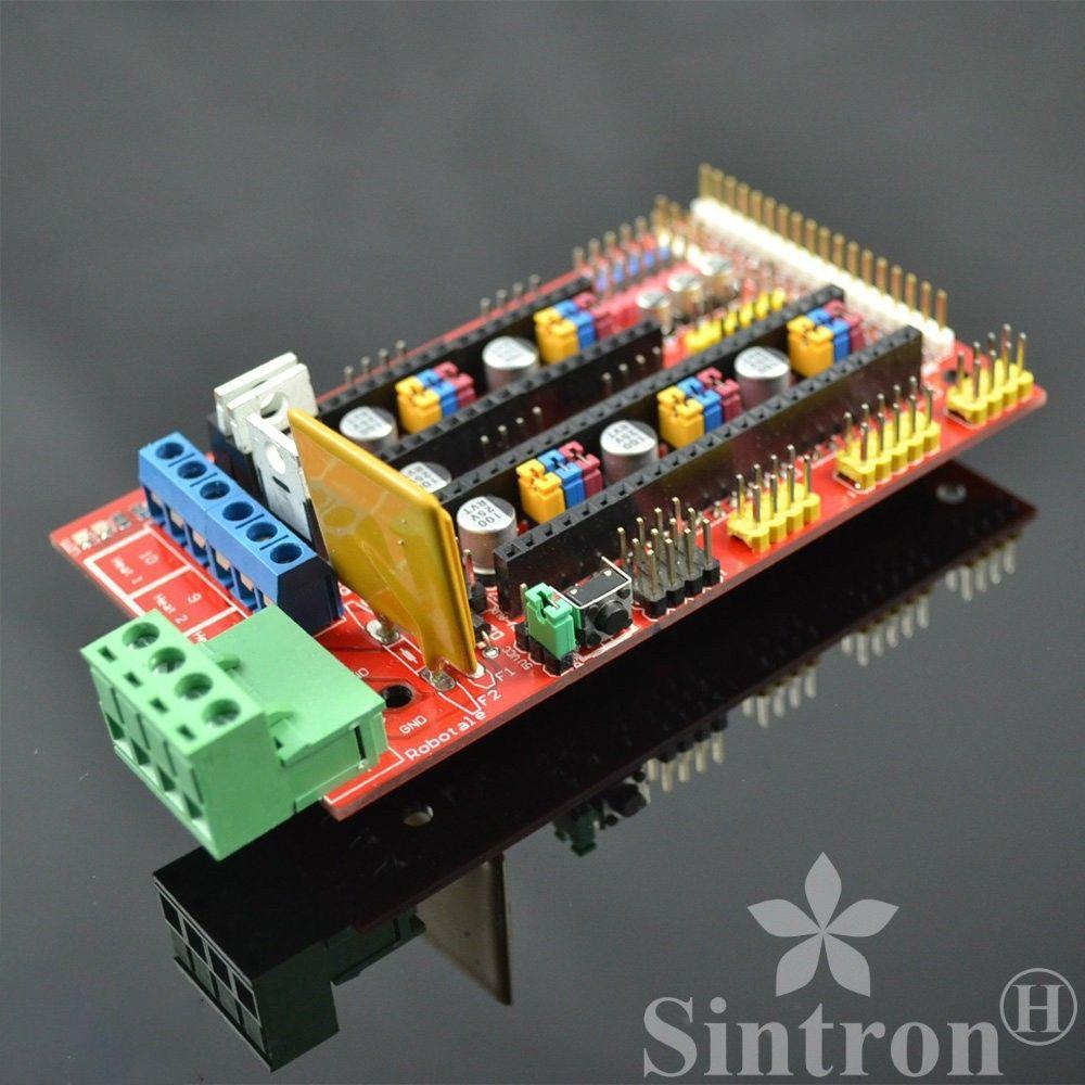 [Sintron] 3D Printer Controller RAMPS 1.4 for Reprap Prusa Mendel Arduino AVR ramps 1 4 printer control reprap module for 3d printer deep blue