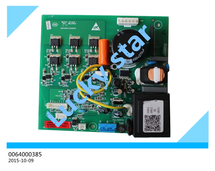95% new for Haier refrigerator computer board circuit board 0064000385 driver board good working set 95% new for lg refrigerator computer board circuit board bcd 205ma lgb 230m 02 ap v1 4 050118driver board good working