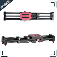 Laing Extendable Double Distance Track Dolly Rail Slider Video Stabilizer for Camcorder DSLR Camera DV