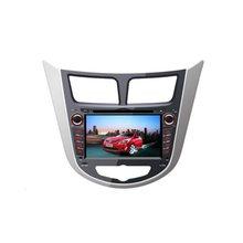 For HYUNDAI Verna  2010-2012- Car DVD Player GPS Navigation Touch Screen Radio Stereo Multimedia System