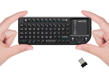 On sale 3IN1 MINI Wireless Bluetooth Keyboard Laser Pointer Touchpad Backlit Keyboard for PC Andorid TV Box