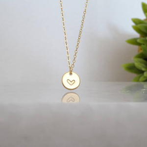 Image 2 - 925 Silver Name Necklace Handmade Rose Gold Coins Choker 7mm Pendant Collier Femme Kolye Collares Jewelry Boho Women Necklace
