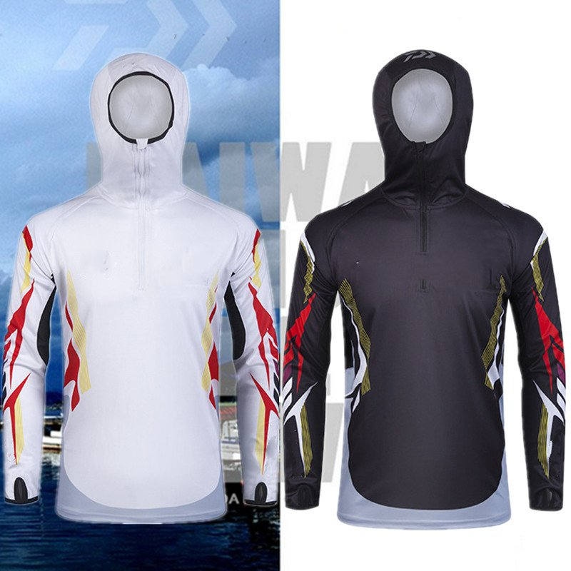 Ice silk sun protection clothing wicking breathable hooded hoodie