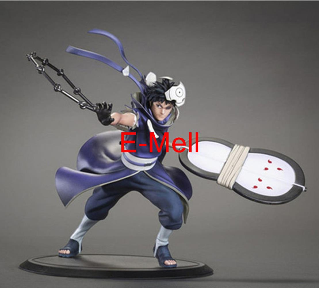 Cosplay 18cm/7.1'' Naruto Akatsuki Uchiha Obito PVC GK Garage Kits Action Figures Toys Model аксессуары для косплея neko cosplay