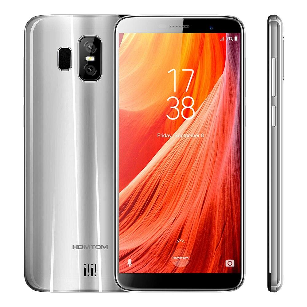 Newest HOMTOM S7 4G Smartphone 5.5 inch Android 7.0 MTK6737 Quad Core 1.3GHz 3GB RAM 32GB ROM Fingerprint Unlock