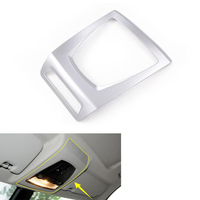 YAQUICKA Auto Car Interior Car Roof Reading Light Lamp Panel Frame Cover Styling Sticker For BMW X3 2014 2017