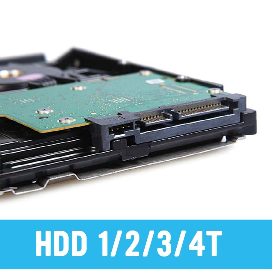3.5 Inch 7200rpm Sata3 1TB 2TB 3TB 4TB HDD For CCTV KIT DVR NVR Video Record Free Shipping