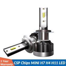 2PCS  Mini Auto lampada H4 H7 LED Car Headlight 12V 60W 10000LM 6000K Lamp H8 H9 H11 H1 9005 HB3 9006 HB4 H8 H11 light Bulb 12v ev12 car headlight led h7 h4 h1 9005 hb3 9006 hb4 h11 60w 6000lm auto dob led lamp 12v ice blue car light plug and play