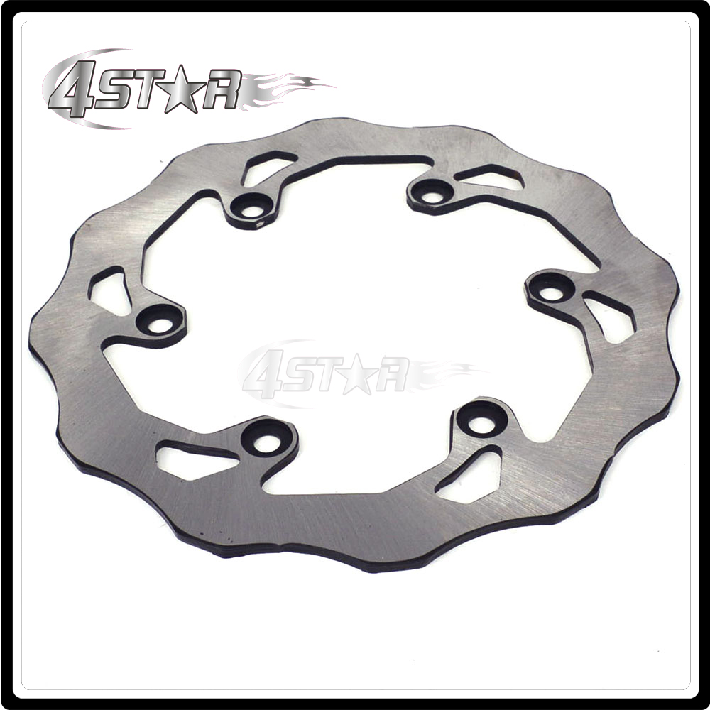 Motorcycle Rear Brake Disc Rotor For Yamaha WR125 DT200 TTR250 TT-R 250 WR200 WR250Z YZ125 YZ250 YZ400F YZF-R1 YZF R6 2017 motorcycle brake disc rotor fit for yamaha yz 125 wr 250 1988 2001 wr125 yz250 1999 2000 wr250f yz 250f yz250 wr426f 2001 rear