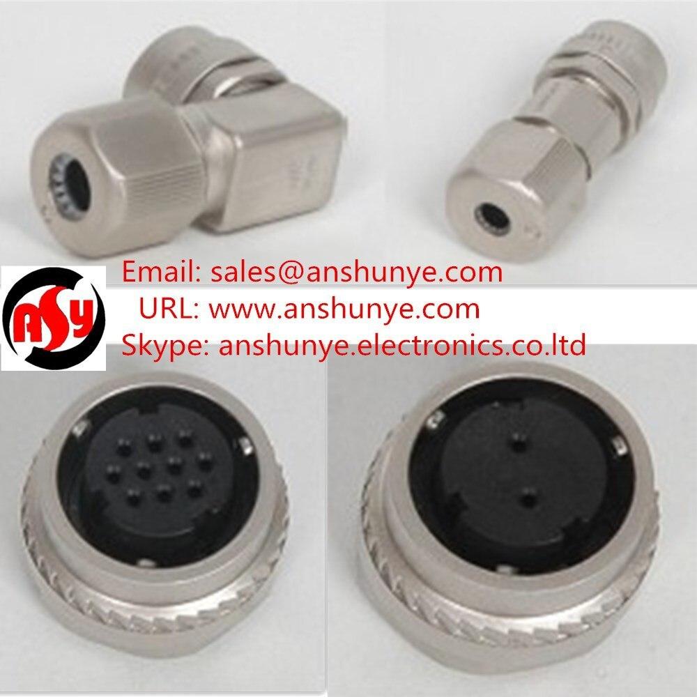 ФОТО Yaskawa servo motor  Encoder socket  CM10-AP10S-M-D Right Angle