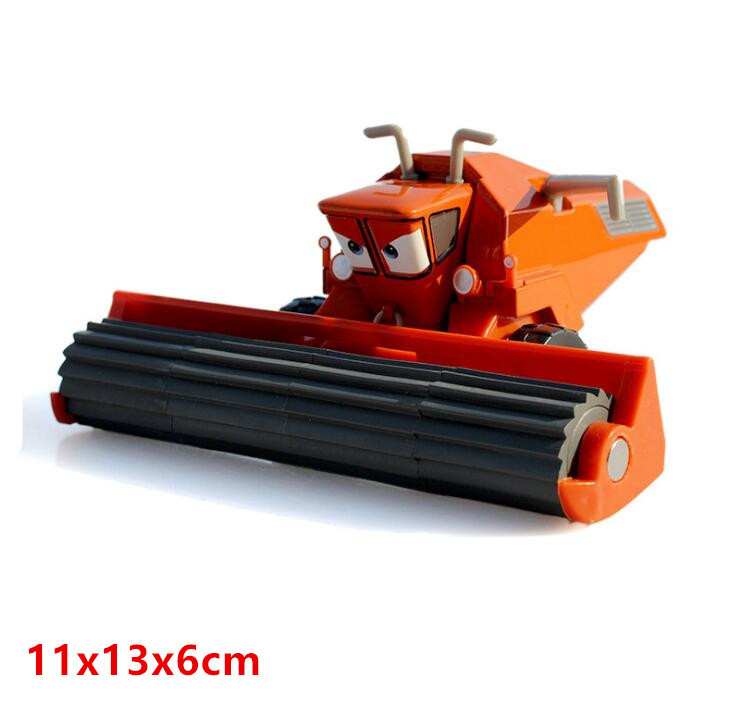 Disney Pixar Cars Frank And Tractor Diecast Toy Car For Children Gifts 1:55 Loose Alloy Modle Brand New In Stock цена