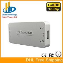 Бесплатная доставка DHL бесплатно драйвер 1080 P 1080I 60fps USB3.0 захвата hdmi ключ/HDMI карты захвата USB с поддержкой HDCP трещины видео захватами