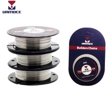 VAMOCE RDA Heating Wire E Cigarette Coil Tool Nichrome Wire Ni80 Kanthal A1 SS316L 24GA 26GA For Rda Rta Vape Atomizer e xy flat coil wire 120mm heating wire electronic cigarette 10pcs in a tube for vapor vape rda rta premade resistance wire
