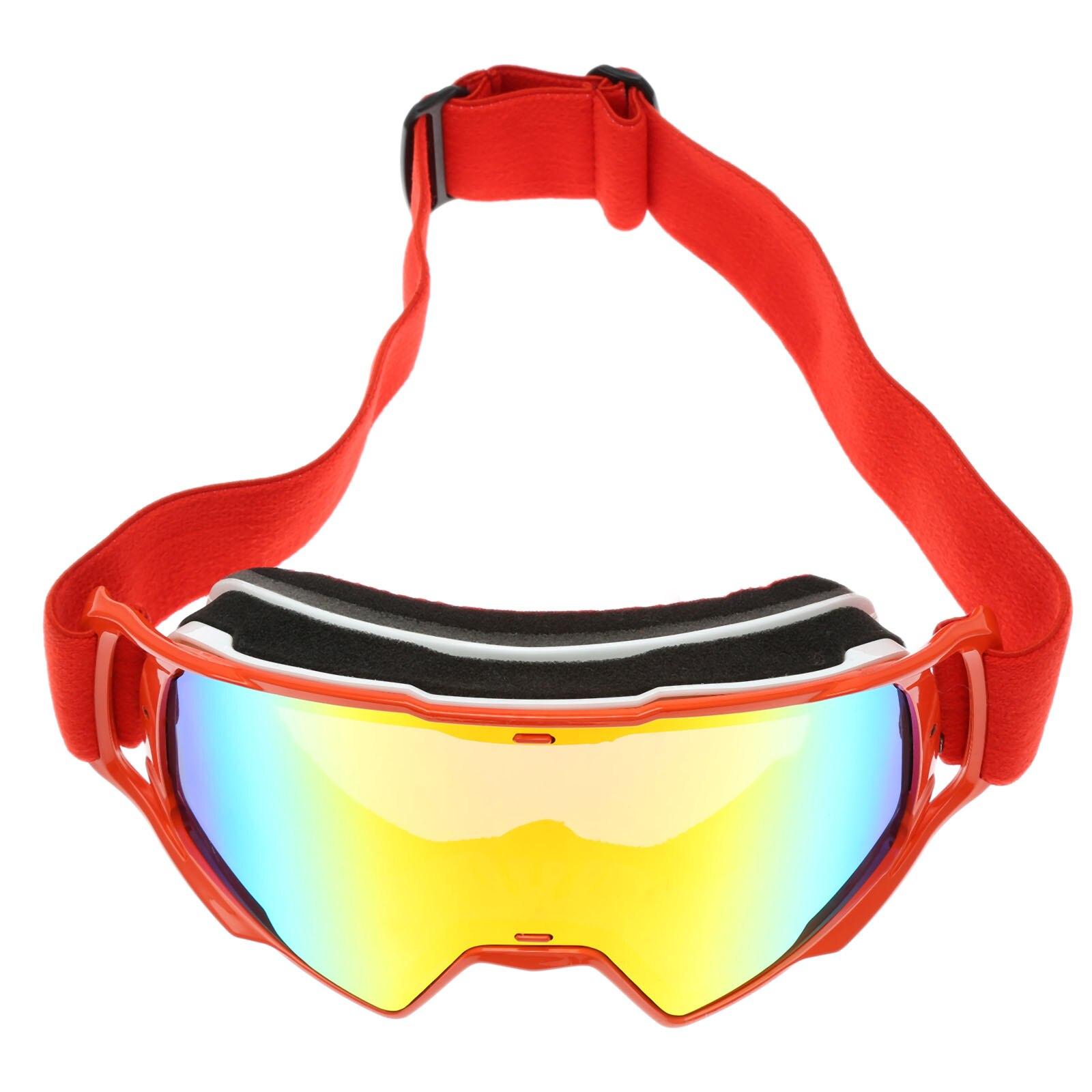 New Anti-UV Motorcycle Goggles Glasses Motocross Skiing Googles Country Sunglasses Tinted Snowboard ATV Glasses Off-Road Eyewear