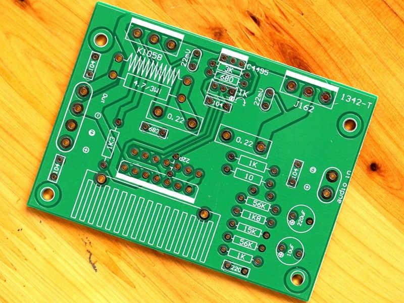 100 واط UPC1342V أحادية مكبر للصوت الصوت مجلس K1058 J162 ترانزستور بتأثير حقل ايفي مكبر كهربائي مجلس