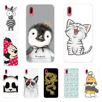 Vivo Y93S Y93 Case,Silicon Super cat Painting Soft TPU Back Cover for Vivo Y93S Y93 protect Phone shell