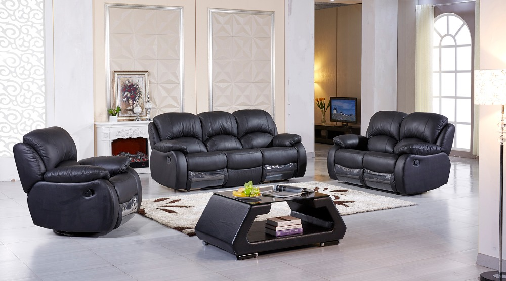US $1800.0 |2018 New Direct Selling Chaise Armchair Sofas For Living Room  Living Room Sofa Modern Set Recliner With Genuine Leather-in Living Room ...