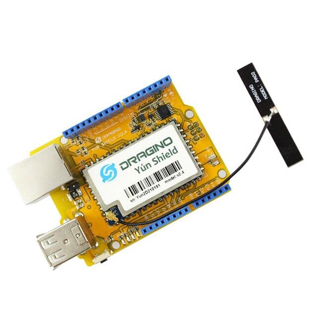 Elecrow Yun Escudo v2.4 para Leonardo Arduino UNO Mega2560 Linux Wi-fi Ethernet Internet USB Tudo-em-um Escudo Kit DIY Open Source